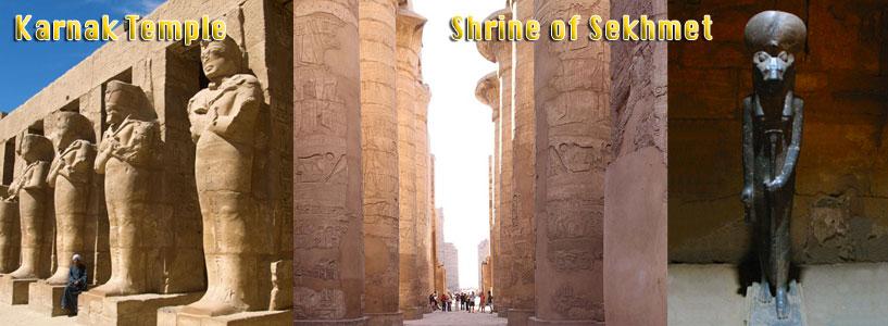 Karnak Temple - Shrine of Sekhmet