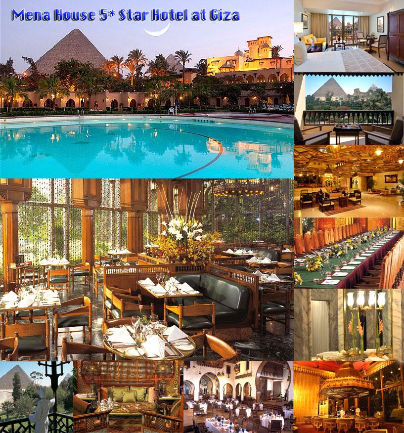 Mena House 5* Star Hotel at Giza