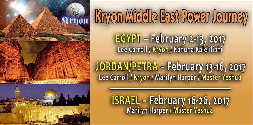 Kryon Middle East Power Journey 2017