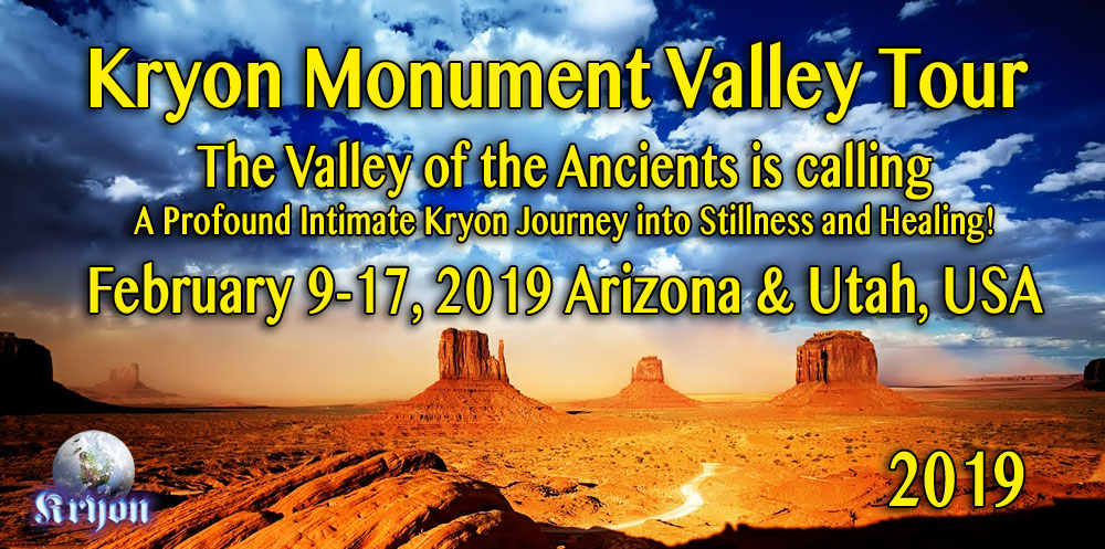 Kryon Monument Valley Tour 2019